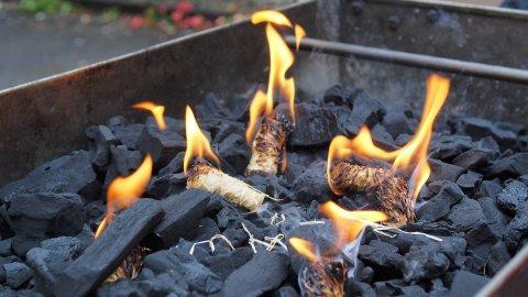 mangal kömürü oluşumu